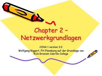 Netzwerkgrundlagen - CCNA 1 Chapter 2 Networking Fundamentals