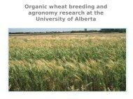 organic - Centre d'agriculture biologique du Canada