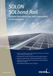 SOLON SOLbond Rail. - Infobuildenergia.it