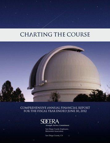 SDCERA 2012 Comprehensive Annual Financial Report CAFR