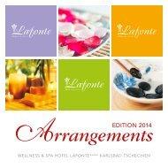 Arrangements 2014 (PDF, 1 MB) - Hotel Lafonte