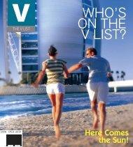 WHO'S ON THE V LIST? - Virani Real Estate Advisors