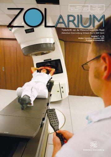 Tijdschrift van de Wetenschappelijke Raad - Ziekenhuis Oost-Limburg