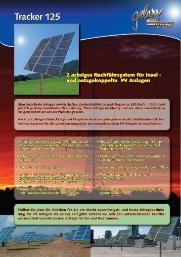 Tracker 125 - Sonnendeal