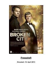 BROKEN CITY – Presseheft - Thimfilm