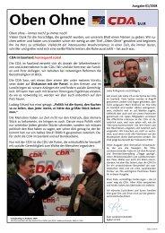 Ausgabe 01/2008 - CDU Saar