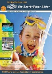 Freibadmagazin 2013