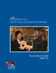 Association Guide 2009-10 - School Nutrition Association