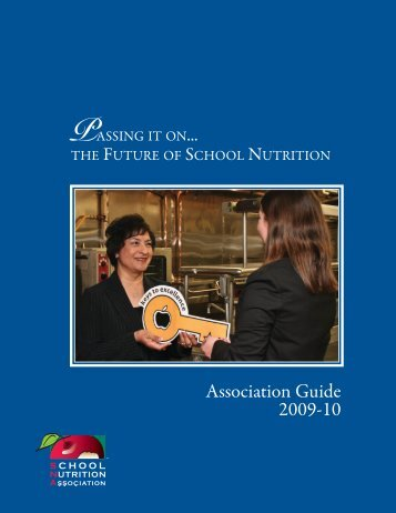 Association Guide 2009-10 - School Nutrition Association
