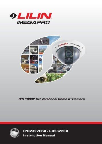 Installation guide: Lilin LD2322EX3.6 - Network Webcams