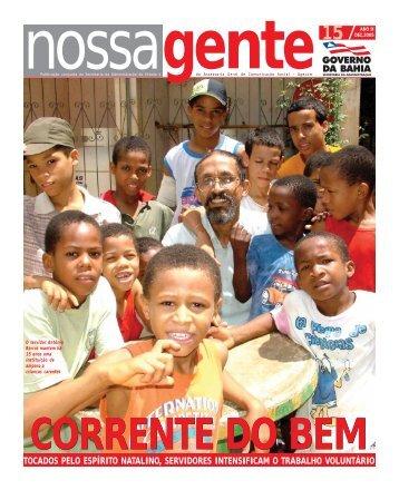 Dezembro - Governo da Bahia