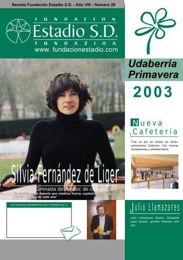Silvia Fernández de Liger - Fundación Estadio