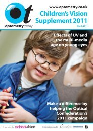 Children's Vision Supplement 2011 - Optometry Today