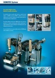 Schunk GEMOTEC system brochure part 5 - BIBUS