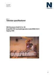 Tekniske specifikationer - F.wood-supply.dk