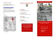 Flyer - Regionale Bildungsnetzwerke