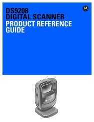 DS9208 Digital Scanner Product Reference Guide (p ... - eMobileScan