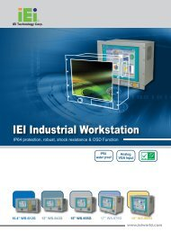 IEI Industrial Workstation - Q-Products