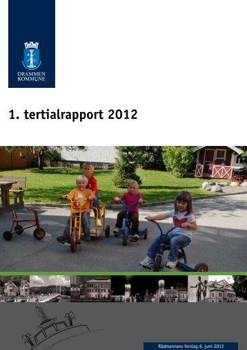 Les 1. tertialrapport 2012 som pdf. - Drammen kommune