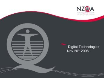 Slides - Digital Technologies Guidelines