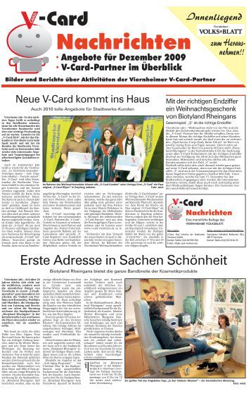 Rheingans magazine for Nachrichten seiten