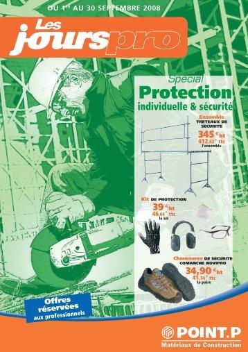 Les Jours Pro Spécial Protection individuelle & sécurité ... - Point.P