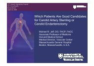 Which Patients Are Good Candidates for Carotid ... - summitMD.com