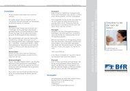 Checkliste für die Zeit nach der Geburt - Bundesinstitut für ...