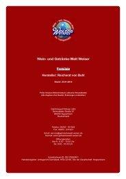 Reichsrat von Buhl - und Getränke-Welt Weiser