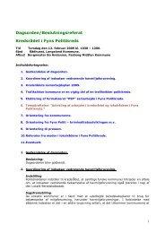 Referat den 12. februar 2009 - Politiets