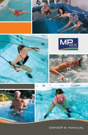 2013 Michael Phelps Swim Spa RX Owner's Manual - Master Spas