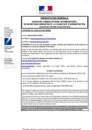 présentation générale - Ministère Equipement