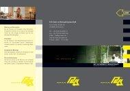 Hotel-Flyer - PER GmbH