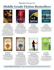 Middle Grade Fiction Bestsellers - Randomhouse.biz