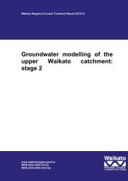 Groundwater modelling of the upper Waikato catchment: stage 2