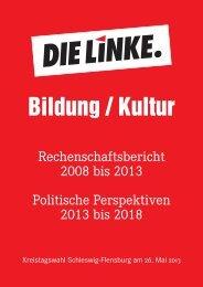 Bildung / Kultur - DIE LINKE. Kreisverband Schleswig/Flensburg