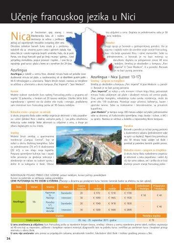 Učenje francuskog jezika u Nici - Kontiki