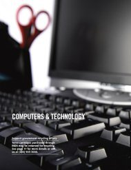 COMPUTERS & TECHNOLOGY - MDA