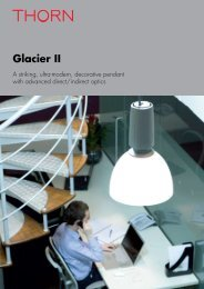 Glacier II - THORN Lighting