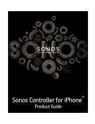 SONOS Controller for iPhone Guide - Almando