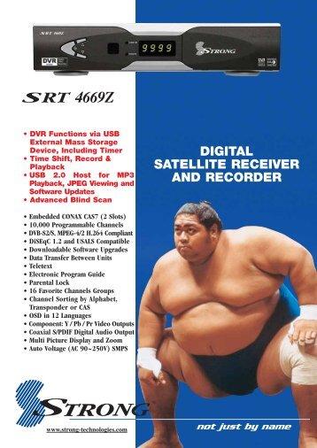 SRT 4669Z Brochure - Strong Technologies