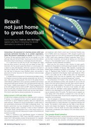 Brazil: not just home to great football - Daniel Advogados