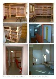 18er Schlafraum 18er Schlafraum 6er Schlafraum Korridor 1. Etage ...