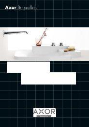 Axor Bouroullec brochure - Hansgrohe