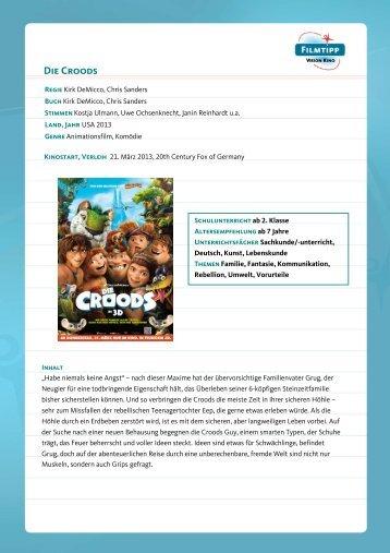 FilmTipp Die Croods - Vision Kino