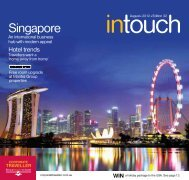 Corporate Traveller Intouch August 2012