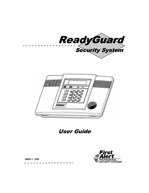 operating manual security guards