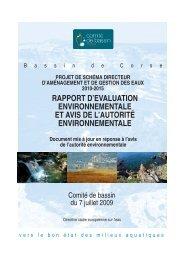 Rapport environnemental - L'eau dans le bassin de Corse