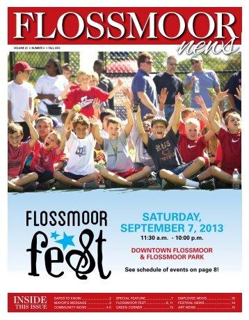 Fall 2013 - Village of Flossmoor, Illinois