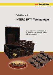 ESD Behälter mit INTERCEPT® Technologie - SSI Schäfer